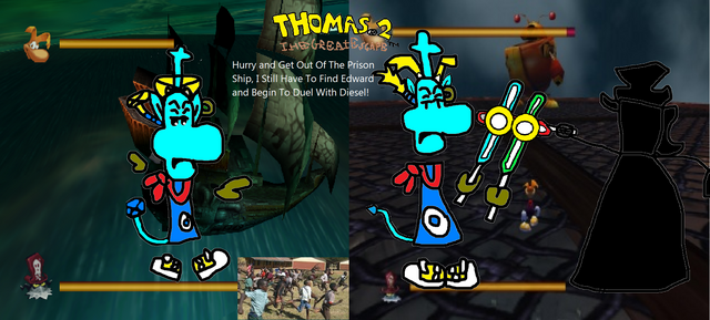 File:Thomas 2 - The Great Escape! - Part 16 - Get Out Of The Prison Ship, I Must Find Edward and Fight Diesel!.png