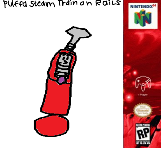 File:Puffa Steam Train on Rails - Poster..png