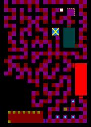 Maze of Shadows Floor Plan