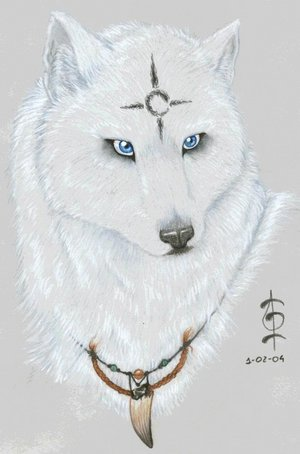 File:White Wolf by crescentmoon.jpg