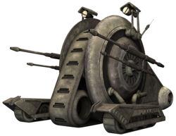 Tank droid TCW-1-