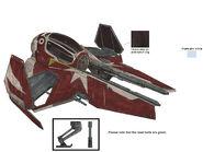 Ahsoka jedi starfighter concept art