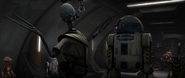 Doctor Gubacher and R2-D2-SW
