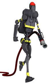 Firefighter battle droid
