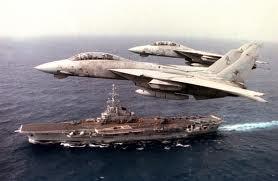 File:F-14 Tomcat Flying Over Carrier.jpg