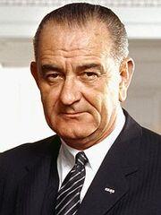 220px-37 Lyndon Johnson 3x4