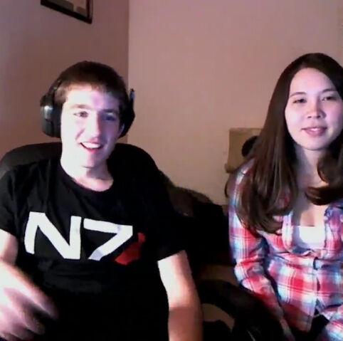 File:Monica and Jordan on the 24 hour livestream.jpg