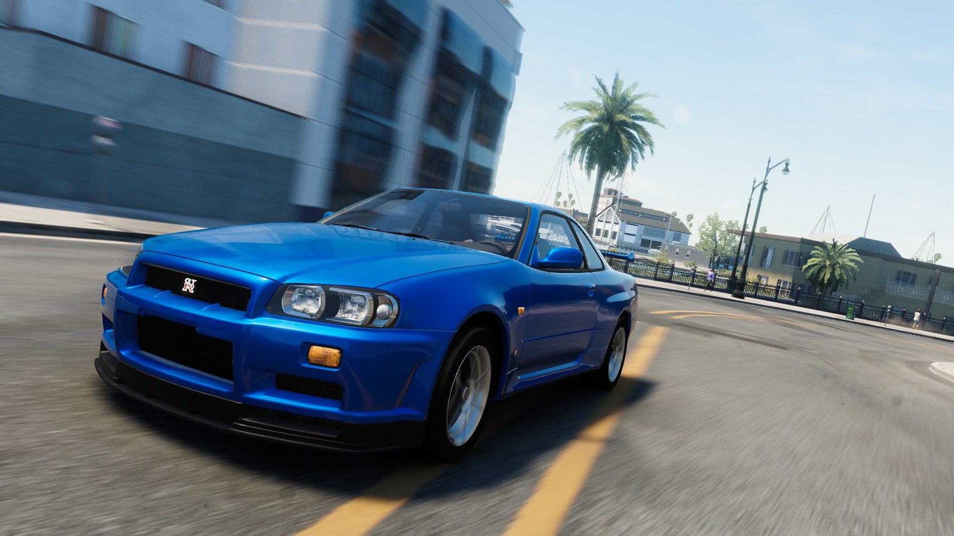 nissan skyline gt r r34 the crew wiki fandom powered by wikia. Black Bedroom Furniture Sets. Home Design Ideas