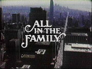 All in the family tv series