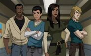 Luke Cage (Earth-TRN123), Ava Ayala (Earth-TRN123), Daniel Rand (Earth-TRN123) and Sam Axander (Earth-TRN123) 003