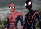 Spider-Man and Miles Morales