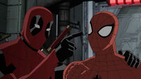Deadpool with Spider-Man