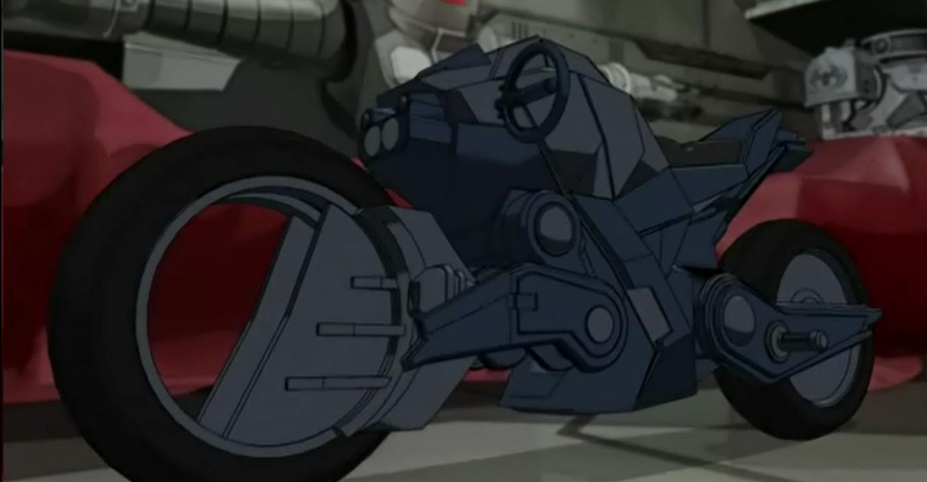 Spider cycle ultimate spider man animated series wiki - Spider man moto ...