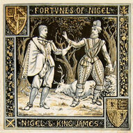 Fortunes of Nigel - Nigel and King James