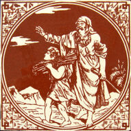 04 - Biblical Scenes - Minton Hollins & Co