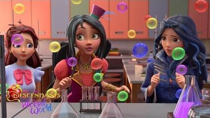 Episode 23 Chemical Reaction Descendants Wicked World