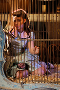 Tamara caged