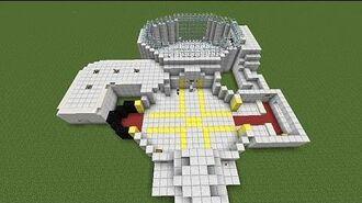 Minecraft (How-To-Build) DanTdm's Lab (Part 1)