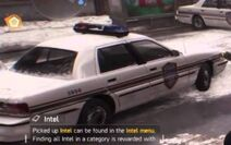 The Division police car