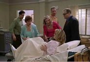 The Gang arrives at the Hospital