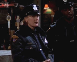 Denise Crosby as Officer Hayes