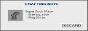 Screenshot Crafting Note