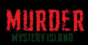 MURDER Mystery Island Logo One