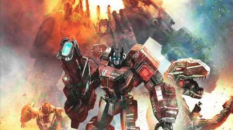Transformers Fall of Cybertron - Main Menu Theme (Extended Version)