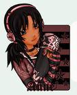 Pink purple black girl b by x itac