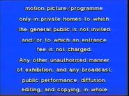 Carlton Home Entertainment Warning Screen (1992) (S2)