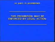 Carlton Home Entertainment Warning Screen (1992) (S3)