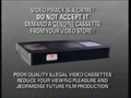 Warner Home Video Piracy Warning (1990)