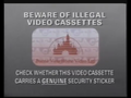 Buena Vista Home Video Piracy Warning (1991) Hologram
