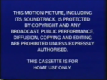 Buena Vista 1997 Warning Screen
