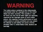 Universal 1991 Warning A
