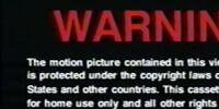 DreamWorks Home Entertainment Warning Screens