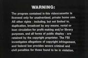 Thorn EMI Warning 1