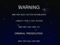 CIC Video Warning (1988) (S5)