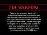 Image Entertainment FBI Warning 1c