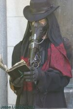 Plague doctor 04 by jesse Lindsay 2013