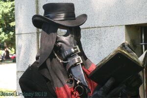 Plague doctor 02 by jesse Lindsay 2013