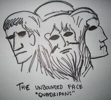 The unbounded face