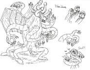Lc horror elder thing by demongirl99-d3eayct