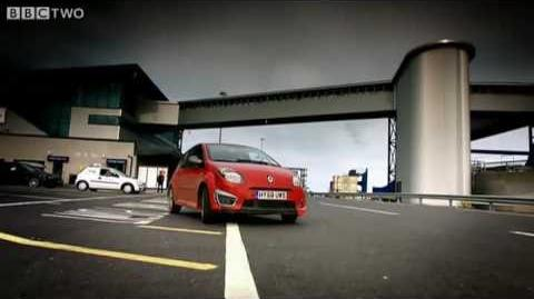 HSC Stena Voyager on Top Gear