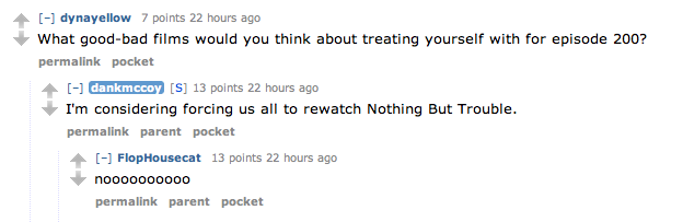 20141019 Reddit AMA nothing but trouble