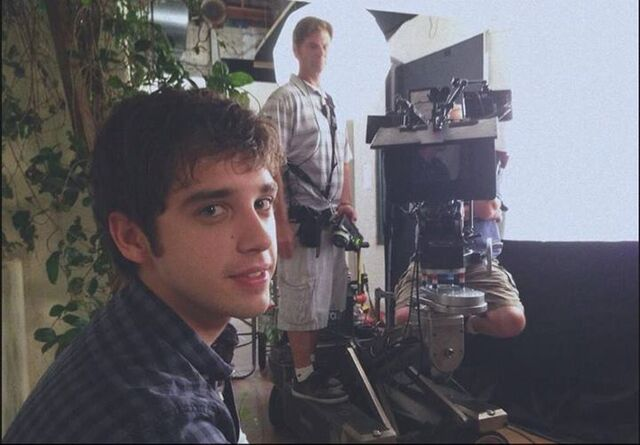 File:David lambert on set.jpg