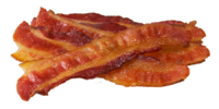 Bacon (extremely popular meat)