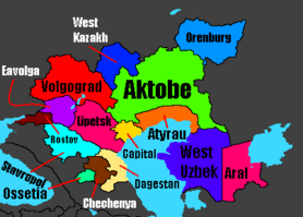 Astonia districts
