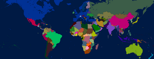 Map of the World TACOS with NATO