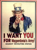 Mapperdonia at War!